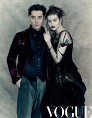 Hu Ge & Luna Bijl for Vogue China June 2018-3