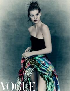 Hu Ge & Luna Bijl for Vogue China June 2018-5