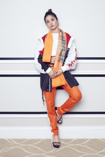 Jolin Tsai in Fila X D antidote Spring 2018-3