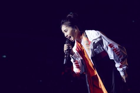 Jolin Tsai in Fila X D antidote Spring 2018-7