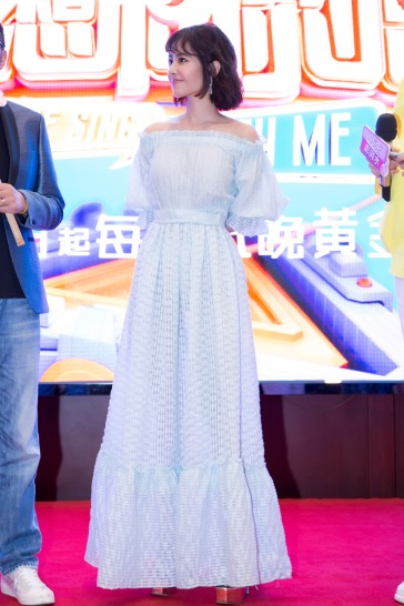 Jolin Tsai in Luisa Beccaria Spring 2018-1