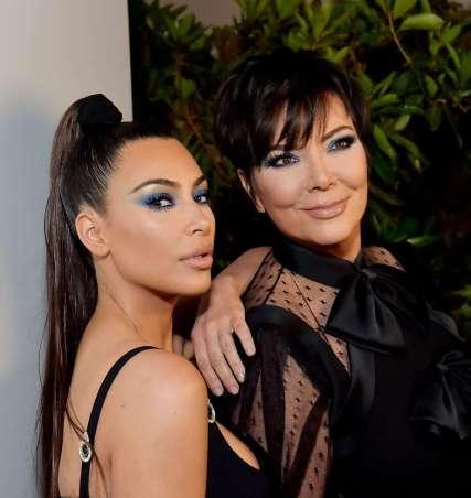 Kim Kardashian in Versace Spring 2018-2