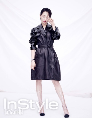 Lily Bai for InStyle China April 2018-1