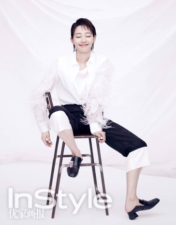 Lily Bai for InStyle China April 2018-2