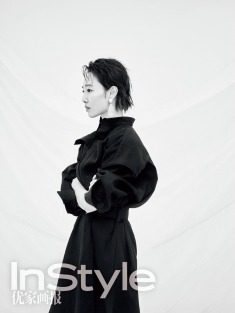 Lily Bai for InStyle China April 2018-4