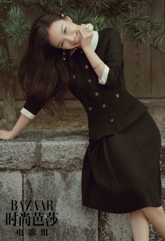 Ni Ni for Harper's Bazaar China May 2018-1