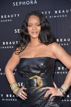 "Rihanna attends the launch for the ""Fenty Beauty by Rihanna"""