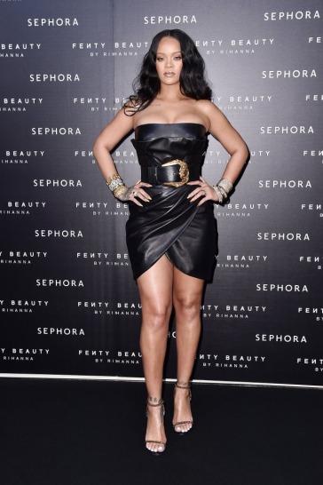 Rihanna in Versace Fall 2018