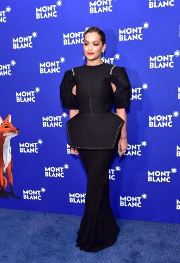Rita Ora in Vera Wang Fall 2018