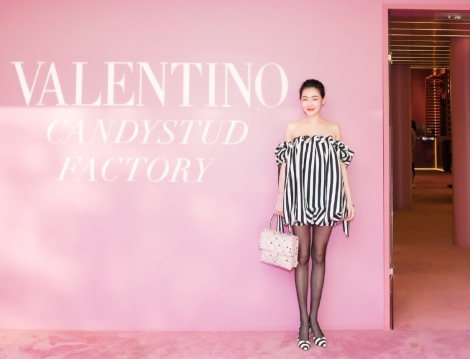 S Elephant Dee in Valentino Pre-Fall 2018-7