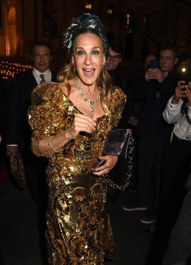 Sarah Jessica Parker in Dolce & Gabbana Fall 2016 Couture-4