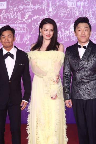 Shu Qi in Blumarine Resort 2018-2