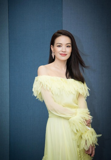 Shu Qi in Blumarine Resort 2018-3