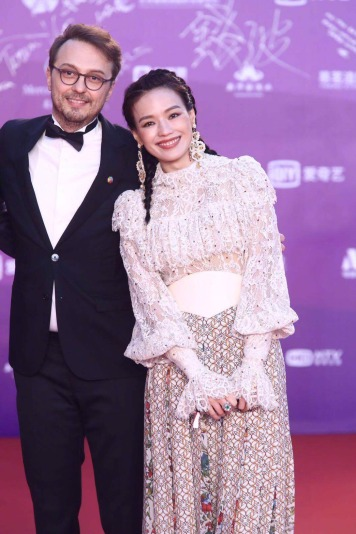 Shu Qi in Elie Saab Fall 2018-4