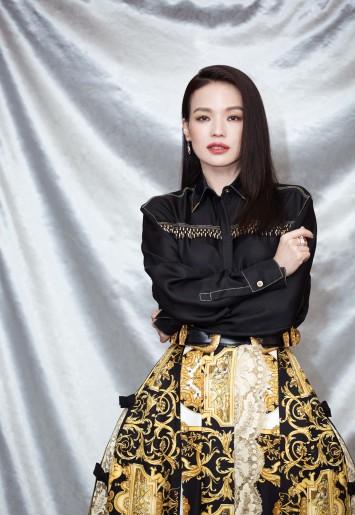 Shu Qi in Versace Spring 2018-2