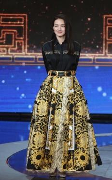 Shu Qi in Versace Spring 2018
