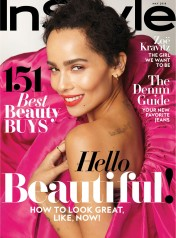 Zoe Kravitz for InStyle US May 2018 Cover A