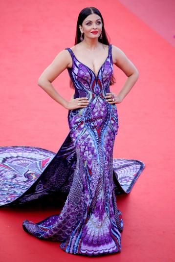 Aishwarya Rai in Michael Cinco Couture
