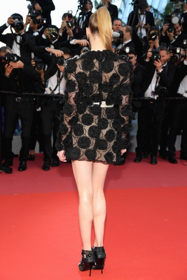 Amber Heard in Giambattista Valli Spring 2018 Couture-1