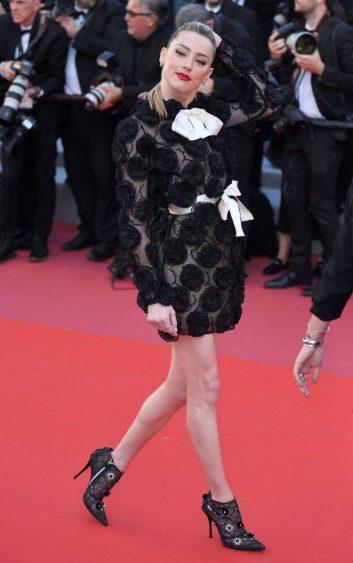 Amber Heard in Giambattista Valli Spring 2018 Couture-2