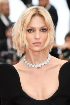 Anja Rubik in Saint Laurent Fall 2018-2