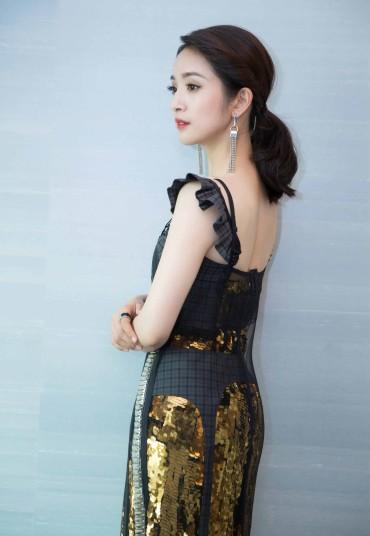 Ariel Lin in Vera Wang Spring 2018-4