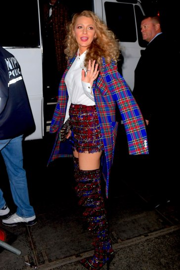 Blake Lively in Versace Fall 2018-4