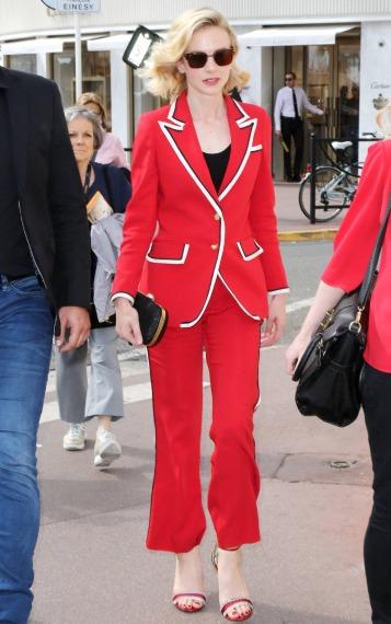 Carey Mulligan in Gucci