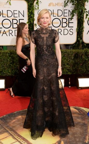 Cate Blanchett in Armani Prive Fall 2013-2013 Golden Globes Awards