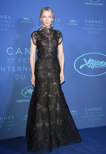 Cate Blanchett in Armani Prive Fall 2013
