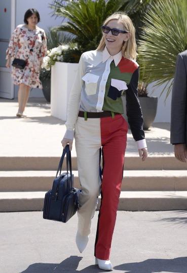 Cate Blanchett in Calvin Klein Spring 2018-2