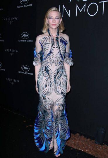 Cate Blanchett in Iris Van Herpen Spring 2018 Couture