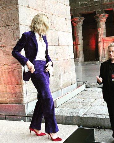 Cate Blanchett in Salvatore Ferragamo Fall 2018