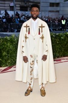 Chadwick Boseman in Atelier Versace