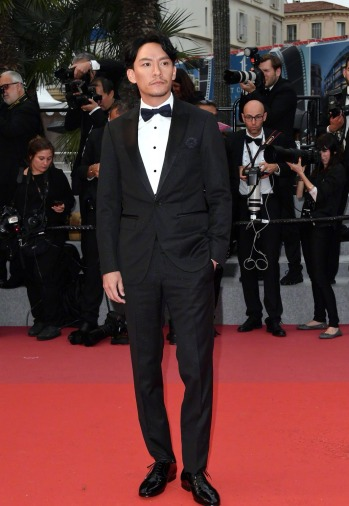 Chang Chen in Lanvin