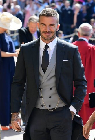 David Beckham in Dior Homme-1