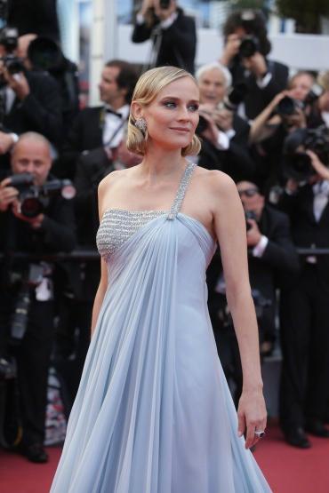 Diane Kruger in Armani Prive