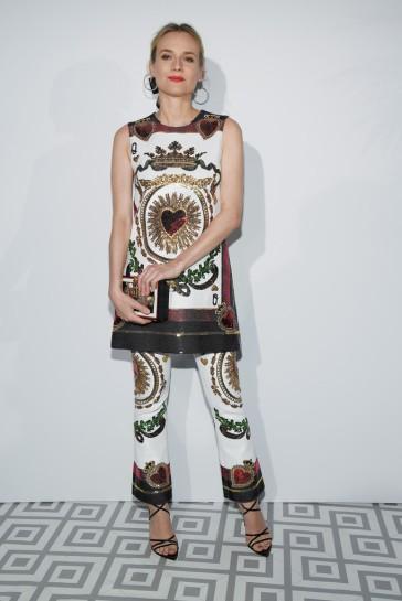 Diane Kruger in Dolce & Gabbana Spring 2018-2