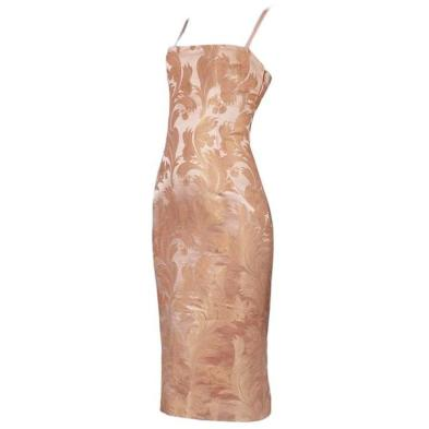 Dolce & Gabbana Blush Corset Dress