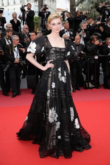 Elizabeth Debicki in Valentino Spring 2018 Couture-2