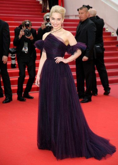 Emilia Clarke in Dior Couture-1