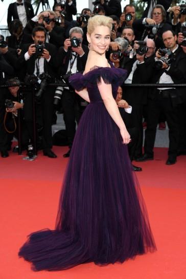 Emilia Clarke in Dior Couture