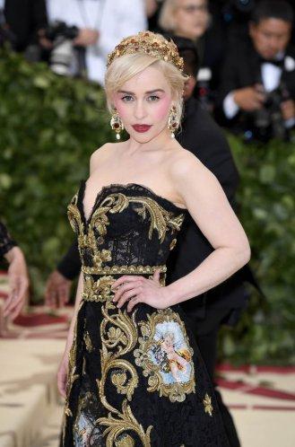 Emilia Clarke in Dolce & Gabbana-1