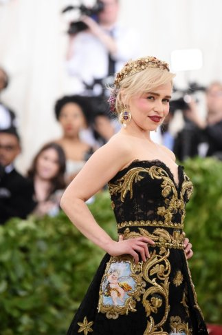 Emilia Clarke in Dolce & Gabbana-3