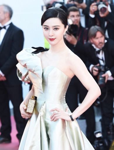 Fan Bingbing in Alexis Mabille Spring 2018 Couture-7