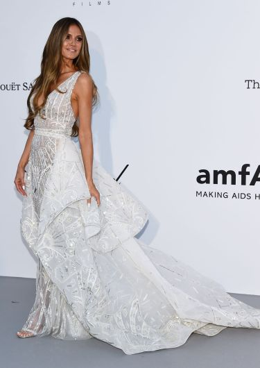 Heidi Klum in Zuhair Murad Bridal Spring 2019-5
