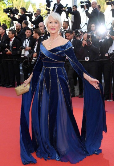 Helen Mirren in Elie Saab Fall 2017 Couture