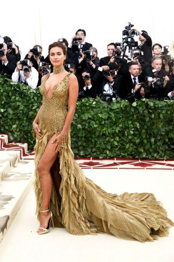 Irina Shayk in Versace-1