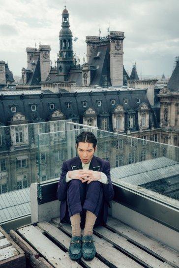 Jam Hsiao in Gucci Pre-Fall 2018 Menswear-5