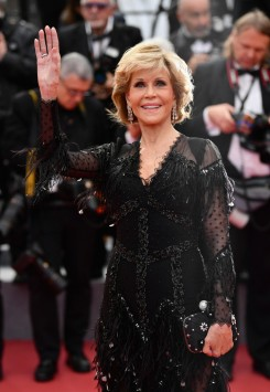 Jane Fonda in Givenchy Spring 2018 Couture-1